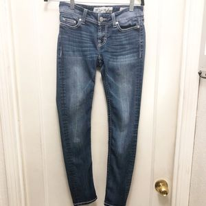 BKE Buckle Sabrina Low Rise Bootcut Jeans 26S